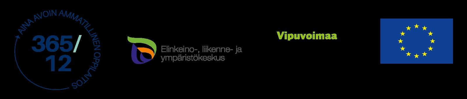 Projektin logot.
