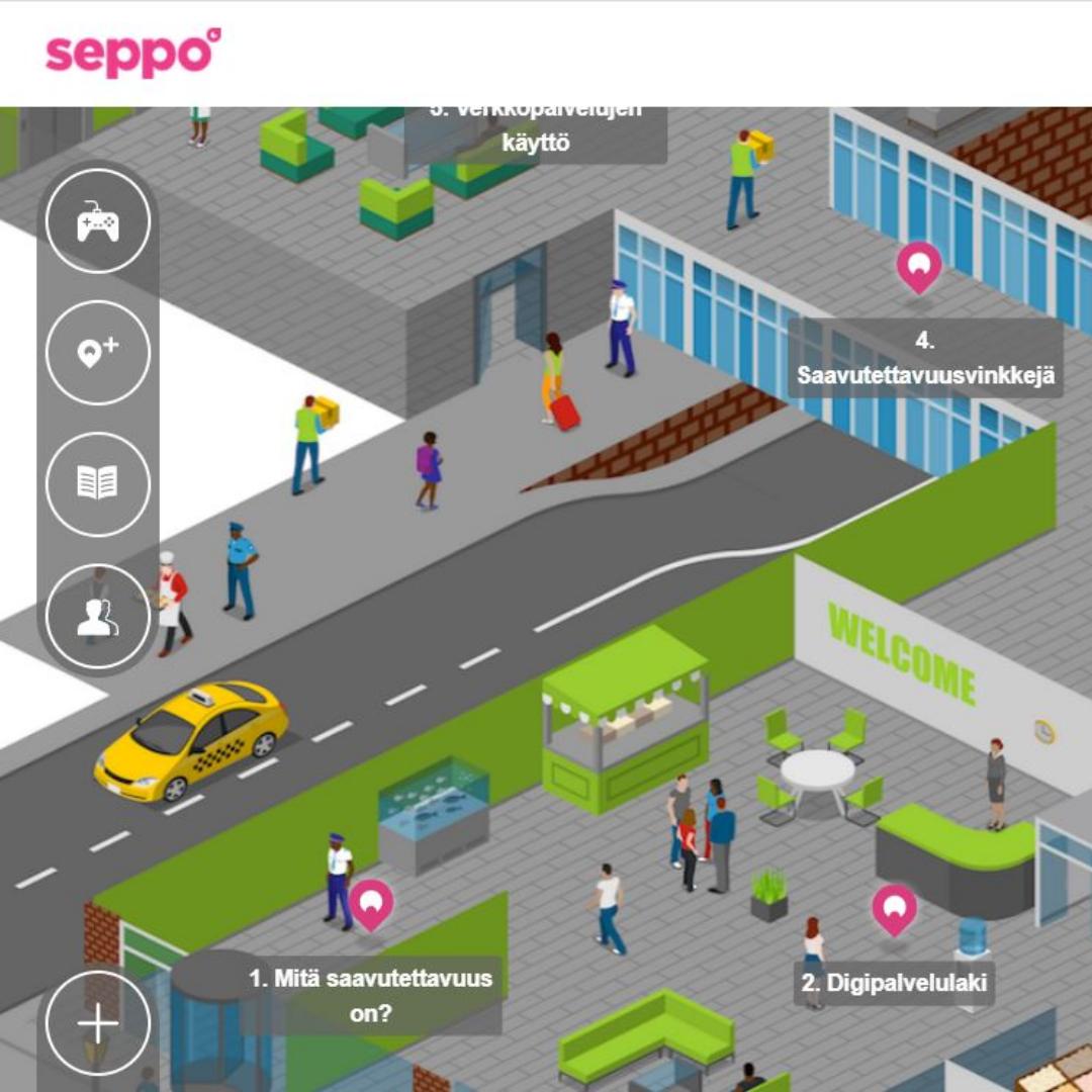 Kuvituskuva Seppo-pelistä