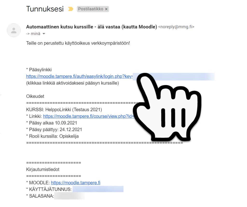 Helppolinkin sähköposti